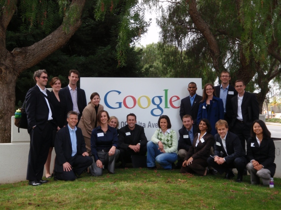 CSR TREK group pic at Google